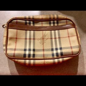 Vintage Burberry Clutch